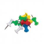 Силовые кнопки-гвоздики 50шт, цветные