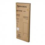 Доска-штендер меловая, Brauberg, 45х104 см
