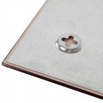 Доска магнитно-маркерная, стеклянная 2x3, 80х60 см