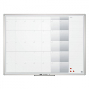Доска-планер магнитно-маркерная на месяц 2x3, 120х90 см