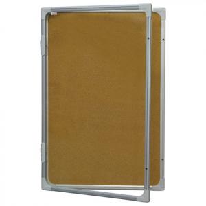 Доска-витрина пробковая 2x3, 120х90 см