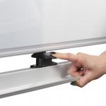 Доска для мела/маркера оборотно-мобильная Brauberg, 120х90 см