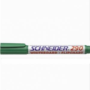 Маркер для флипчартов и досок Schneider-290 зеленый