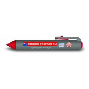 Маркер для магнитных досок Edding-12 красный