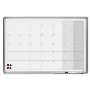 Доска-планер магнитно-маркерная на месяц 2x3, керамическая, 90х60 см