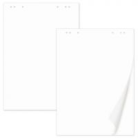 Блокноты для флипчарта Brauberg, комплект 5шт, 20 листов, чистые