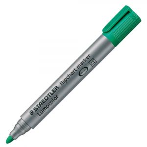 Маркер для флипчарта STAEDTLER Lumocolor, зеленый