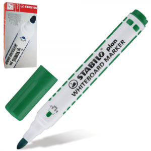 Маркер для доски STABILO Plan, зеленый