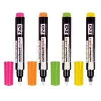 Набор маркеров для доски 2х3 флуоресцентные 4шт