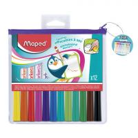Набор маркеров для доски MAPED 12шт