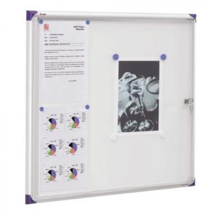 Доска-витрина магнитная Nobo, 73х68 см