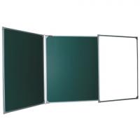 Доска для мела/маркеров 3-элементная BOARDSYS, 150x100/300 см