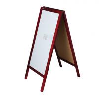 Доска-штендер меловая/магнитно-маркерная, Brauberg, 45х104 см