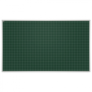 Доска для мела магнитная в клетку 2x3, 100х85 см