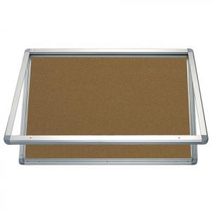 Доска-витрина пробковая 2x3, 90х60 см