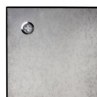 Доска стеклянная черная магнитно-маркерная Brauberg, 45х45 см