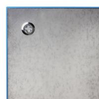 Доска стеклянная синяя магнитно-маркерная Brauberg, 45х45 см