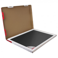 Доска стеклянная черная магнитно-маркерная Brauberg, 60х40 см