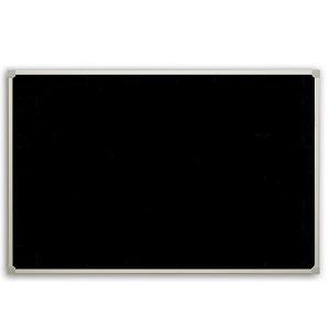 Доска для мела, черная 2x3, 90х60 см