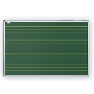 Доска для мела с нотным станом 2x3, 170х100 см