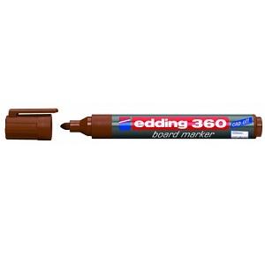 Маркер для магнитных досок Edding-360 коричневый