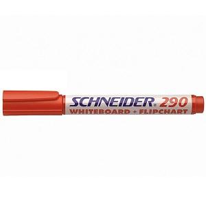 Маркер для флипчартов и досок Schneider-290 красный