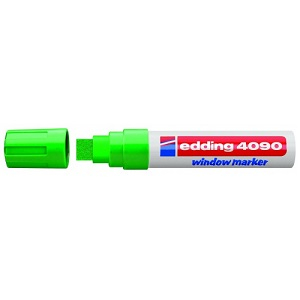 Маркер для меловых досок Edding-4090 зеленый