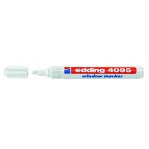Маркер для меловых досок Edding-4095 белый