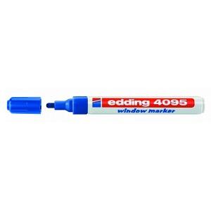 Маркер для меловых досок Edding-4095 синий