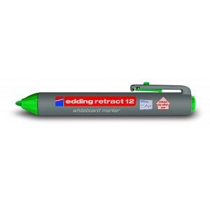 Маркер для магнитных досок Edding-12 зеленый