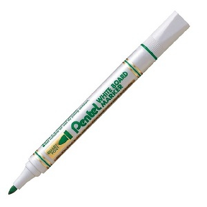 Маркер для магнитных досок PENTEL MW85 зеленый