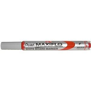 Маркер для магнитных досок PENTEL MWL5S красный