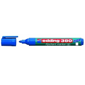Маркер для флипчартов Edding-380 синий