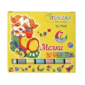 Мел квадратный цветной TUKZAR