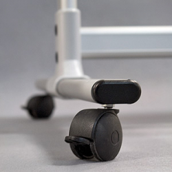 Доска магнитно-маркерная оборотно-мобильная 2x3, 90х60 см