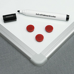 Доска магнитно-маркерная 2x3, 240х120 см
